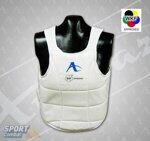 Жилет  Arawaza body protector - WKF approved размер M, белый
