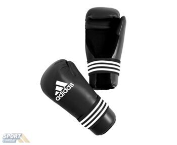 Перчатки  adidas Semi Contact Gloves размер XL, черные